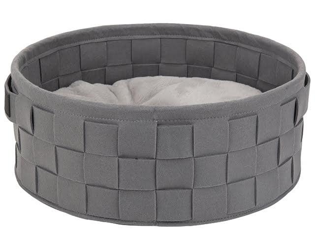 Scruffs Deluxe Habitat seng, 45 cm, grå