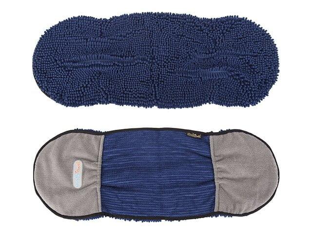 Scruffs Noodle håndklæde, 80×30 cm, blå