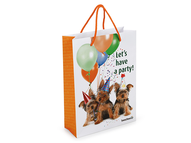 Carrying bag 'Let's have a party'
