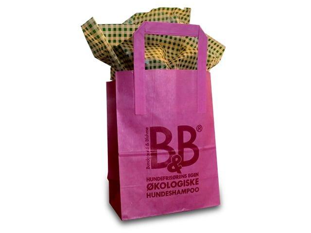 B&B Gift bag, pink