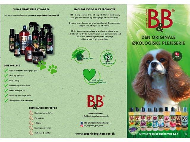 B&B brochure 'Shampoo'