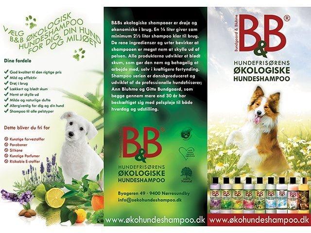 B&B brochurer 'Shampoo'