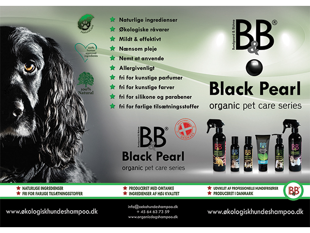 B&B brochurer 'Black Pearl'