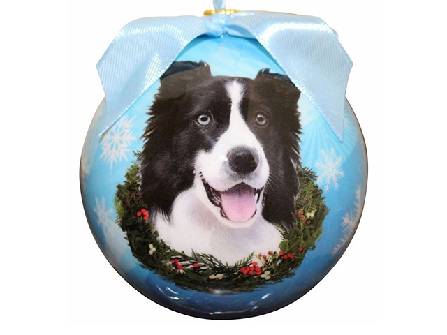 Christmas ornament, Border Collie