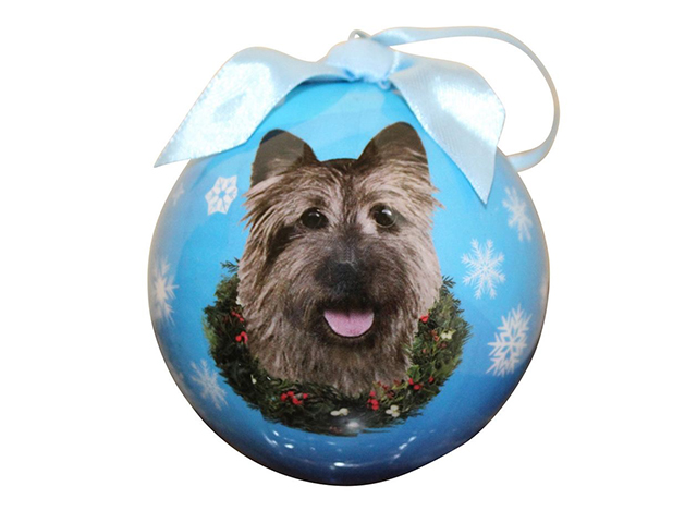 Christmas ornament, Cairn Terrier
