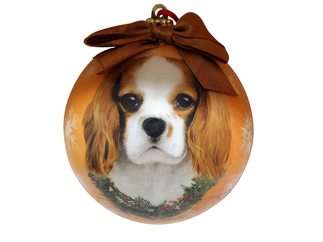 Christmas ornament, King Charles Cavalier