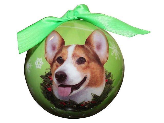 Christmas ornament, Welsh Corgi