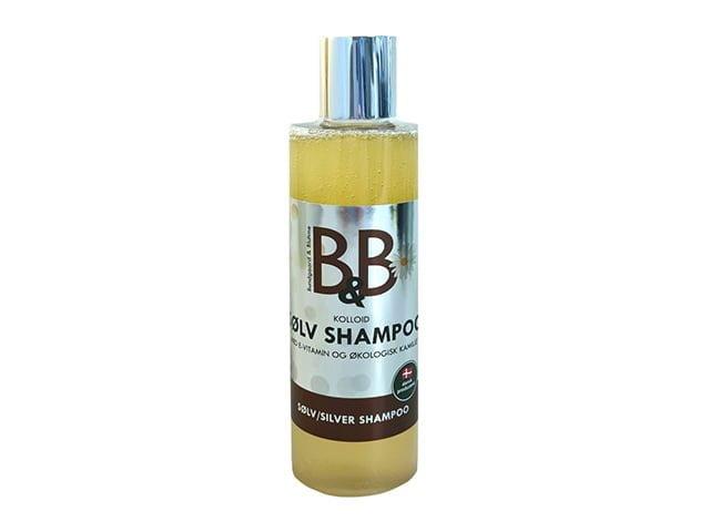 B&B sølv shampoo, 250ml