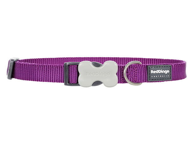 Red Dingo necklace, classic purple