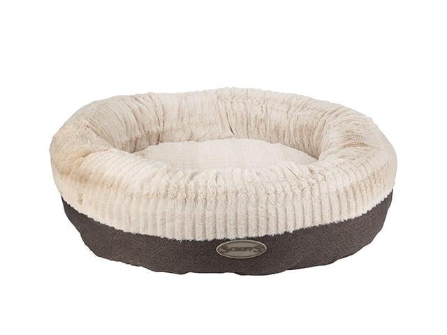 Scruffs Ellen dog bed, gray