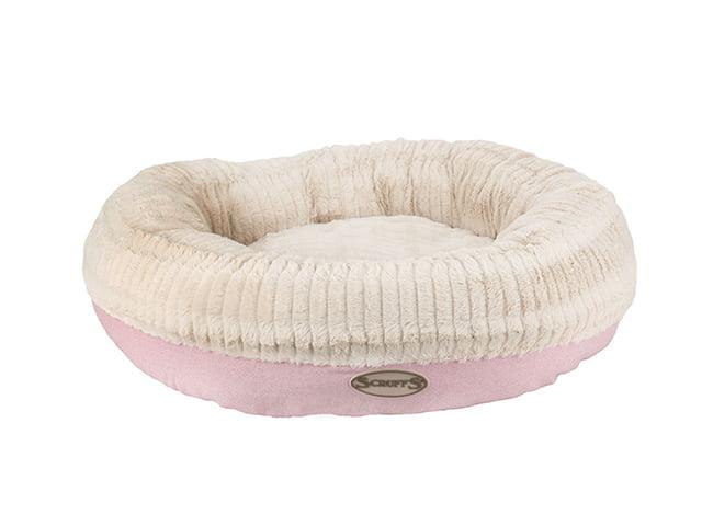Scruffs Ellen dog bed, ø55cm, pink
