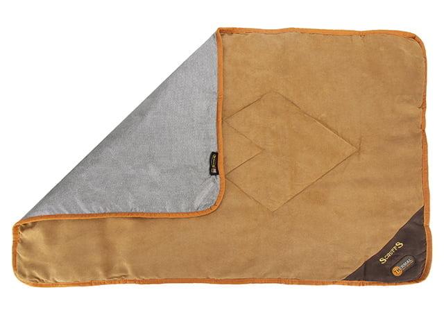 Scruffs Thermal tæppe, 110×75, brun