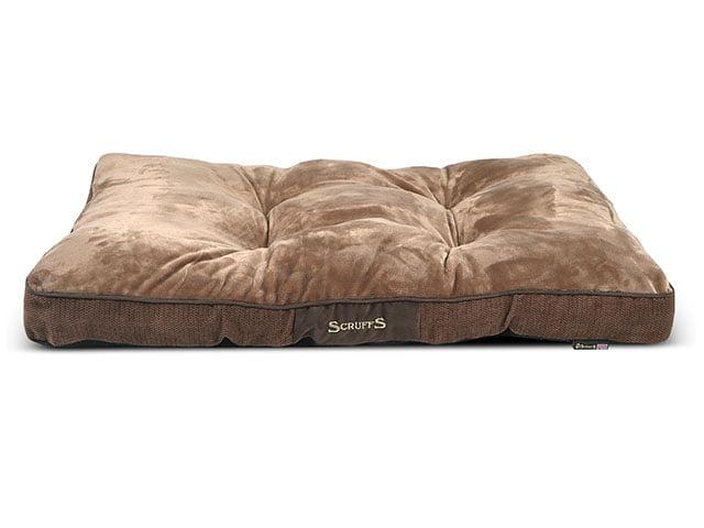 Scruffs Chester Pillow, 100x70x8cm, choco