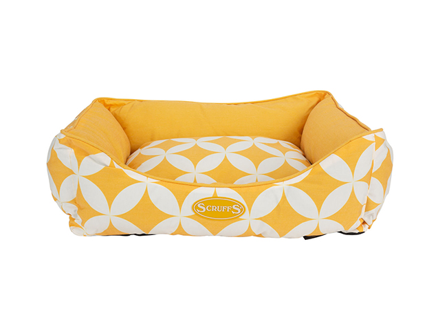 Scruffs Florence bed, yellow
