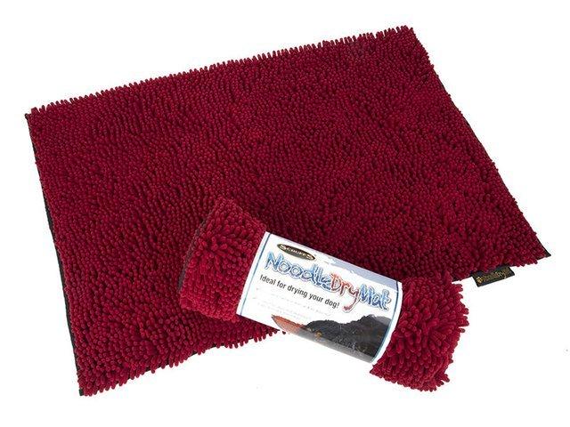 Scruffs Noodle Dry Mat, rød
