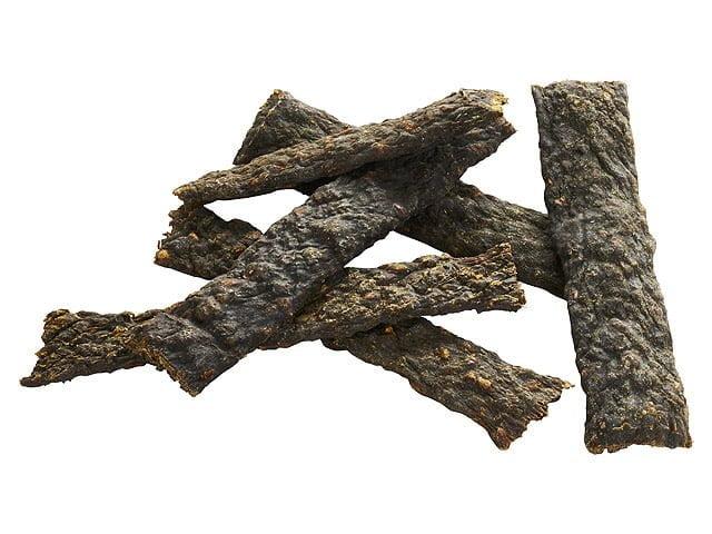 Tikki Meatstrips med ged, 100g