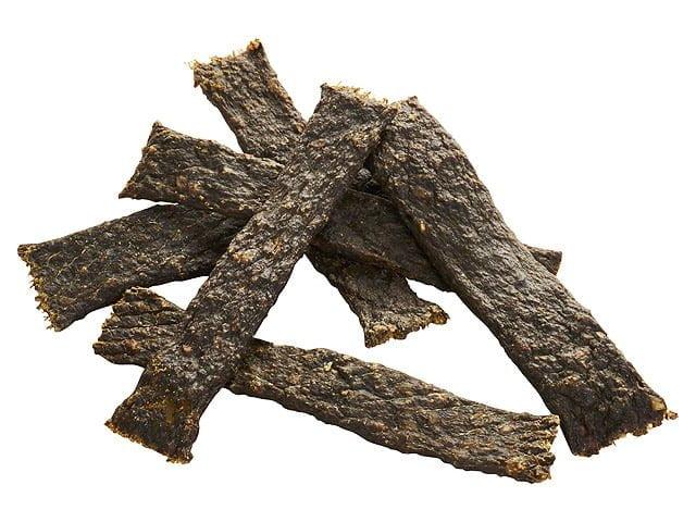 Tikki Meatstrips med vildsvin, 100g