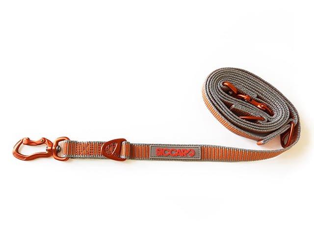 Siccaro Sealines dressurline, 2m, silver/orange
